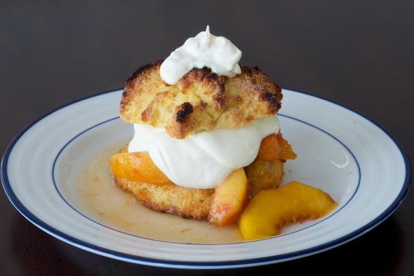 Finished Peach Shortcake