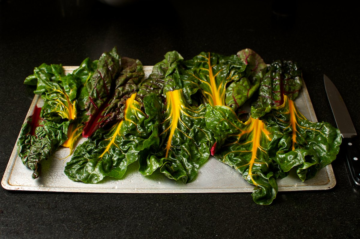 Image Gallery: Oven roasted chard
