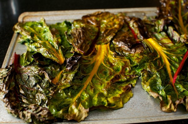 Roast Chard, fresh from the oven