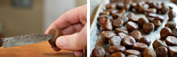 Prepping Chestnuts