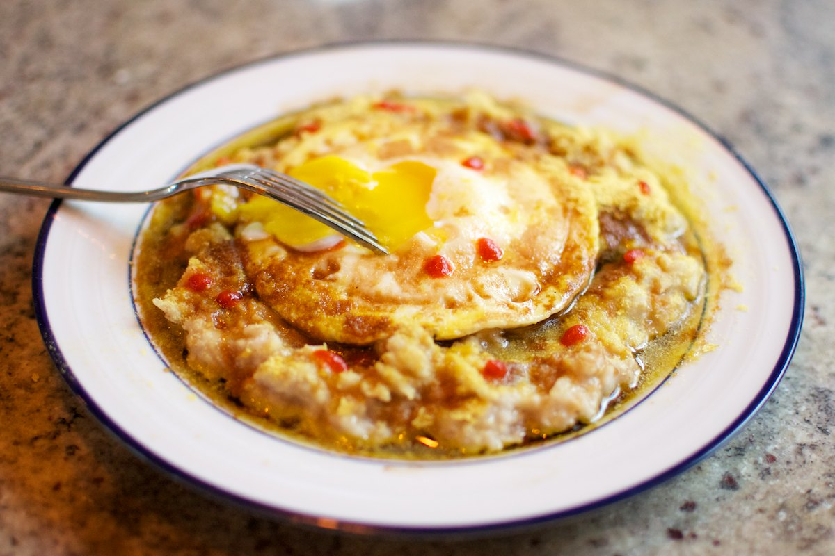 recipe: savory oatmeal with egg recipe [21]