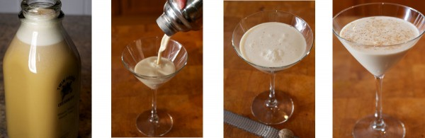It is just like making a martini, but with 6X the calories