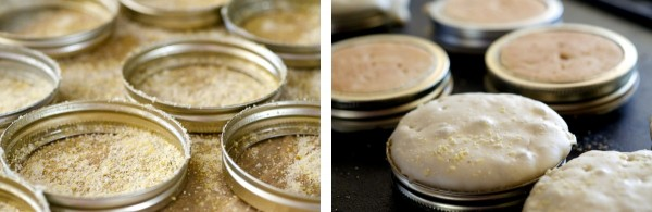 If you don't have crumpet rings (shocking!) use canning jar rims